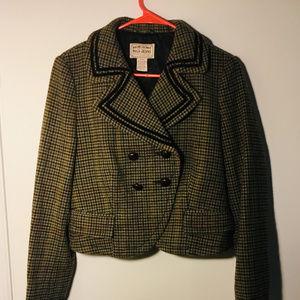 Ralph Lauren Womans Tweed Jacket Size M